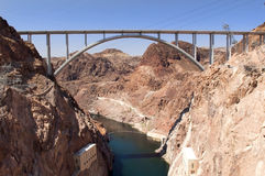 Kolorado-Fluss-Brücke Stockbild
