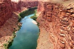 Kolorado-Fluss, USA Lizenzfreie Stockfotos