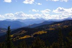 Kolorado góry sceneria Zdjęcia Royalty Free