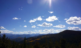 Kolorado góry sceneria Fotografia Royalty Free