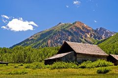 Kolorado-Geisterstadt lizenzfreies stockfoto