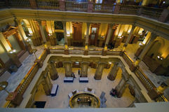 Kolorado-Kapitol-Gebäude Inerior Lizenzfreies Stockfoto