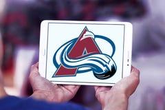 Kolorado lawiny lodu drużyny hokejowej logo Obrazy Stock