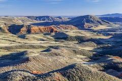 Kolorado niewygładzony teren zdjęcia stock