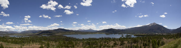 Kolorado Panoramiczny Obrazy Royalty Free