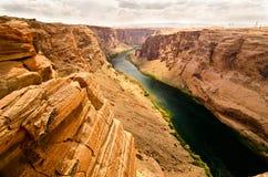 Kolorado Rzeczny jar w Arizona Zdjęcie Stock