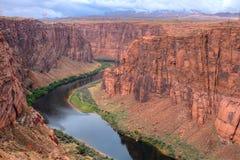 Kolorado rzeka Arizona obrazy stock