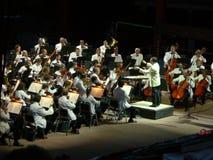 Kolorado-Sinfonieorchester an den roten Felsen Lizenzfreies Stockbild