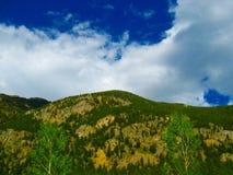 Kolorado Skalistej góry sceneria Fotografia Stock