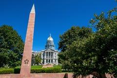 Kolorado Stan Capitol Budynek fotografia royalty free