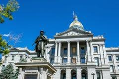 Kolorado Stan Capitol Budynek zdjęcia royalty free