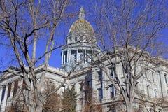 Kolorado stanu Capitol budynek, dom zgromadzenie ogólne, Denver zdjęcia stock