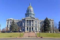Kolorado stanu Capitol budynek, dom zgromadzenie ogólne, Denver obrazy royalty free