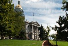 Kolorado stolicy kraju budynek w Denver Zdjęcia Stock