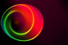 Kolorowa ślimakowata abstrakcjonistyczna kółkowa płodozmienna spirala obrazy stock