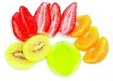 Kolorowa świeża owoc Obraz Stock