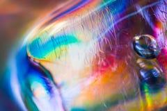 Kolorowa abstrakcjonistyczna akwareli tekstura Zdjęcia Stock