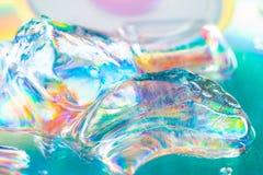 Kolorowa abstrakcjonistyczna akwareli tekstura Zdjęcie Stock
