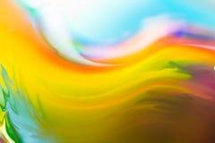 Kolorowa abstrakcjonistyczna akwareli tekstura Obraz Royalty Free
