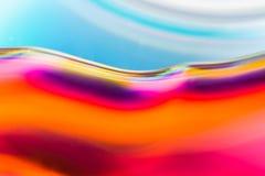 Kolorowa abstrakcjonistyczna akwareli tekstura Obrazy Stock