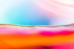 Kolorowa abstrakcjonistyczna akwareli tekstura Fotografia Royalty Free
