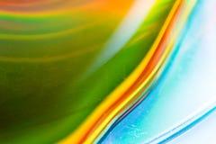 Kolorowa abstrakcjonistyczna akwareli tekstura Zdjęcia Royalty Free