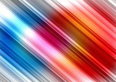 Kolorowa abstrakcjonistyczna oświetleniowa tło ilustracja Obraz Stock