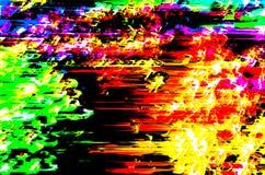 Kolorowa abstrakcjonistyczna tło ilustracja Obrazy Royalty Free