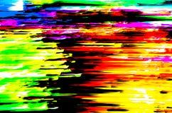 Kolorowa abstrakcjonistyczna tło ilustracja Zdjęcia Stock