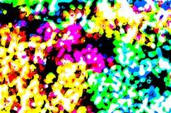 Kolorowa abstrakcjonistyczna tło ilustracja Fotografia Stock