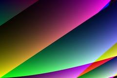 Kolorowa abstrakcjonistyczna tło ilustracja Zdjęcie Stock