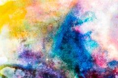 Kolorowa abstrakcjonistyczna tekstura obrazy stock
