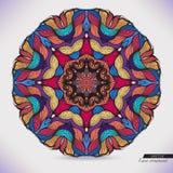 Kolorowa abstrakcjonistyczna wektorowa kurendy koronka. Obrazy Stock
