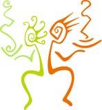 kolorowa abstrakcyjna ilustracja Obraz Royalty Free