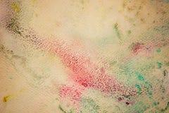Kolorowa akwareli farba na rocznik kanwie Super wysoka rozdzielczość i ilość tło royalty ilustracja