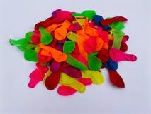 Kolorowa balon zieleni koloru żółtego czerwień fotografia stock