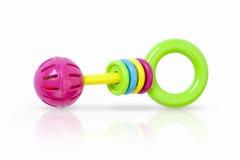 Kolorowa brzęku dziecka zabawka Obrazy Royalty Free