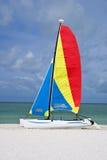 kolorowa catamaran żaglówka Obrazy Stock