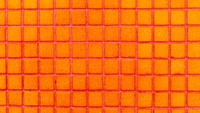 Kolorowa ceramicznych płytek mozaika - pomarańcze Fotografia Stock