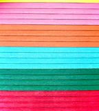 Kolorowa ściana Fotografia Royalty Free