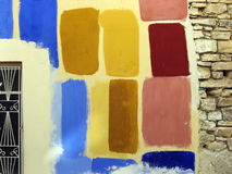 kolorowa ściany Zdjęcia Royalty Free