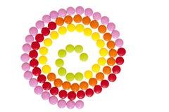 kolorowa cukierek czekolada Zdjęcie Stock