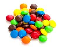 kolorowa cukierek czekolada Obraz Stock