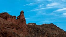 Kolorowa Danxia landform grupa Obrazy Royalty Free