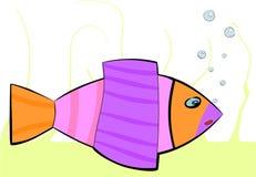 Kolorowa denna ryba Fotografia Royalty Free