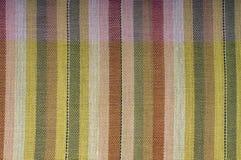 kolorowa deseniowa tkanina Obraz Stock