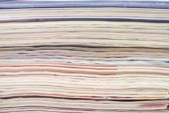 kolorowa dokumentów magazynów sterta Obrazy Royalty Free