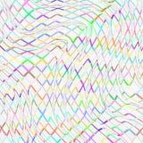 Kolorowa drapująca sieć Zdjęcie Royalty Free