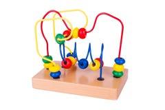 Kolorowa drewniana zabawka Obrazy Royalty Free