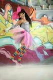 kolorowa dziewczyna Fotografia Stock